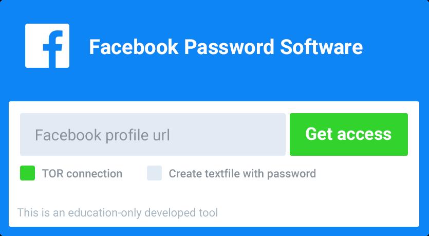Facebook Password Software: Dé software als je Facebook wilt hacken of wachtwoorden van accounts wilt achterhalen.